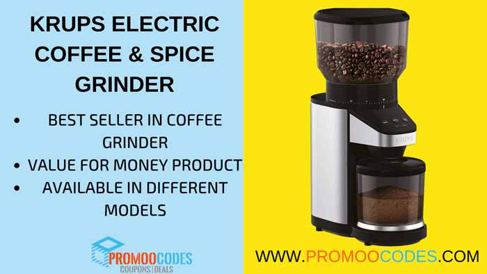 KRUPS ELECTRIC COFFEE GRINDER BEST SELLING COFFEE GRINDER IN AMAZON