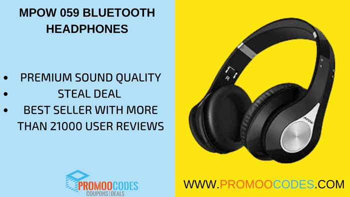 MPOW O59 BEST SELLING PREMIUM SOUND QUALITY HEADPHONES ON AMAZON