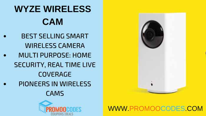 WYZE SMART WIRELESS CAMERA
