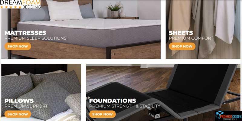 DreamFoam Bedding Coupons