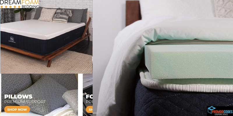DreamFoam Bedding Promo Codes