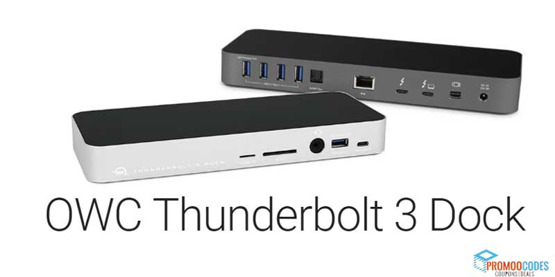 OWC ThunderBolt 3 Dock Coupons
