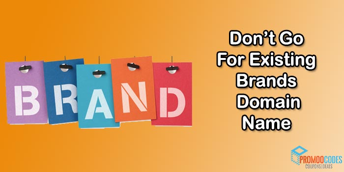 Don't Go For Brands