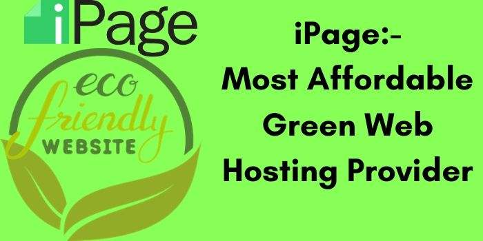 iPage Green Web Hosting