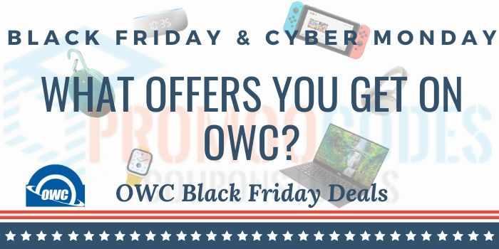 OWC Macsales Black Friday Deals