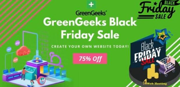 GreenGeeks Black Friday Specials