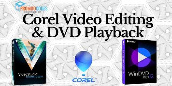 Corel Video Editing Coupon Code