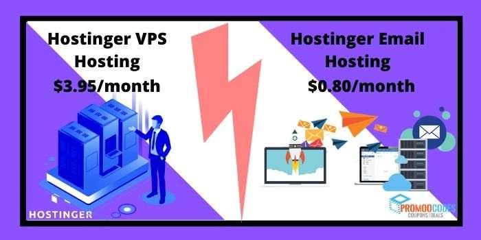 hostinger VPS and Email Hosting