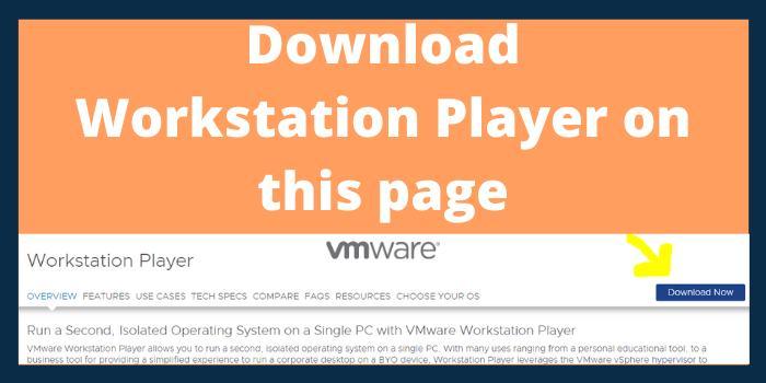 Download Workstation Player