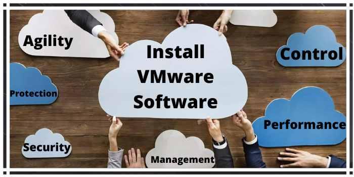 Install VMware software
