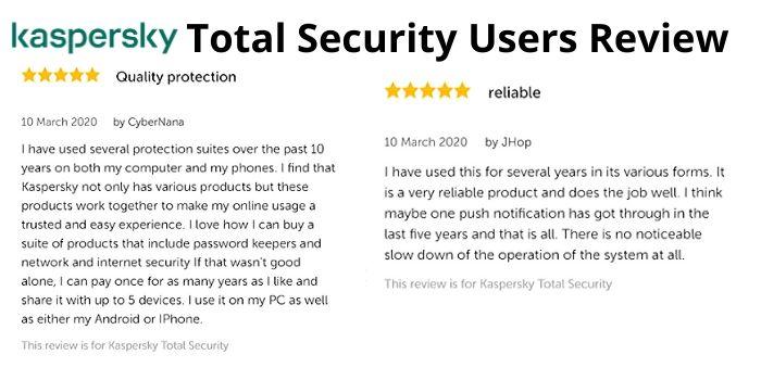Kaspersky Total Security Benefits