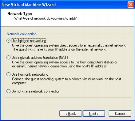 vmware Workstation Player Set up